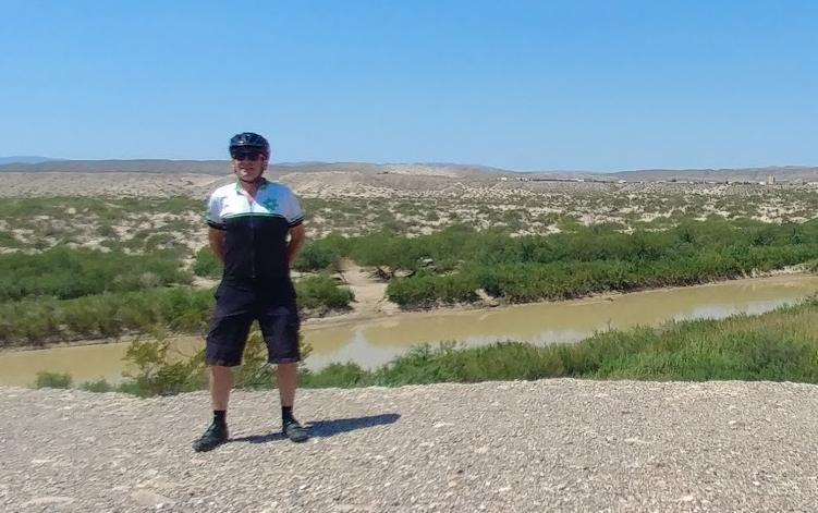 Mike at Boquillas